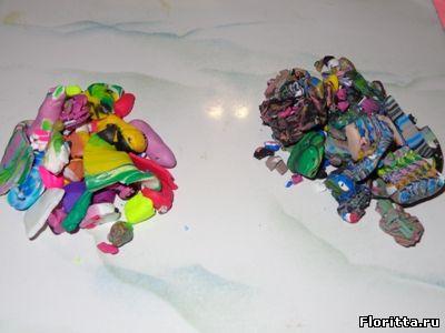 Как сделать полимерную глину цветной фото 63